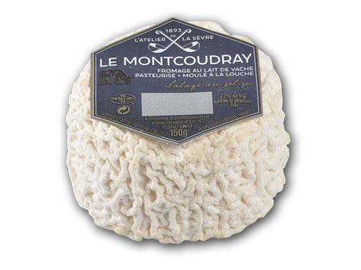 Le Montcoudray 150g - lait de vache pasteurisé - médaille d'or Concours général agricole 2017 - Atelier de la sèvre